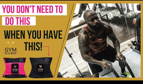 Workout Smarter, Not Harder with Gym In A Box