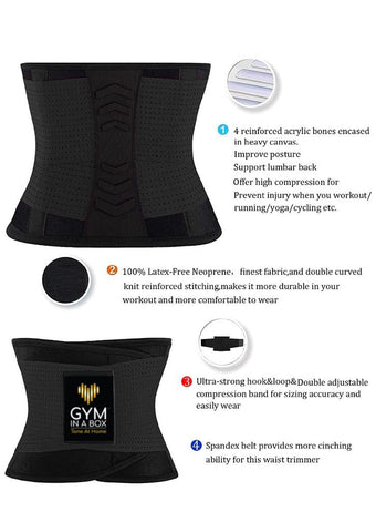 GYM iN A BOX helps with back pain