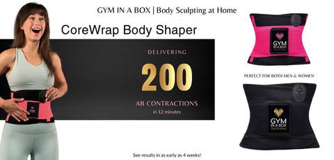 Gym in A BOX delivers 200 Ab contractions in 15 min