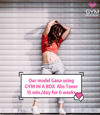 Best abs you will ever have with Gym In A Box CoreWrap Model Gana Cristiani