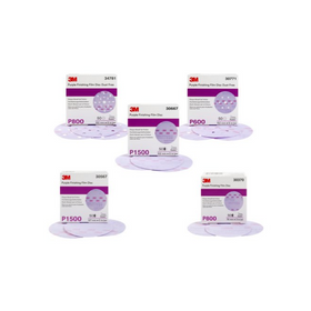 3M™ Hookit™ Purple Finishing Film Abrasive Disc 260L
