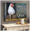 Omegaspeaker Canvas - Rooster - As For Me Canvas Wall Art/ Decor/ Gift-Rooster Love