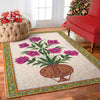 OmegaSpeaker-Christmas Gift Vintage Flower Rug - Gift - Home Decor