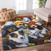 OmegaSpeaker-Christmas Gift Dogs Rug GIFT - HOME DECOR
