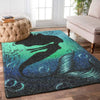 OmegaSpeaker-Christmas Gift Mermaid In The Sea Rug Gift - Home Decor