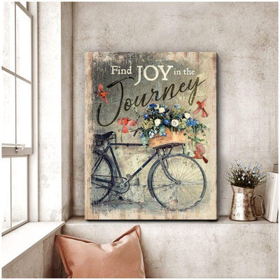 Omegaspeaker Find Joy Cardinal Canvas Wall Art/ Decor/ Gift-Love Cardinal