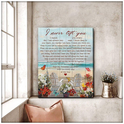 Omegaspeaker Top 10 Gorgeous Butterfly Canvas I Never Left You Bereavement Wall Art/ Decor/ Gift-Love Butterfly