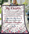 Omegaspeaker-Blanket-Daughter-You Are My love - My Life