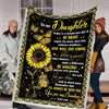 Omegaspeaker-Blanket-Daughter-You Are Sunshine - My Love