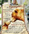 Omegaspeaker-Blanket-Daughter-Love You My Daughter Forever
