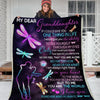 Omegaspeaker-Blanket-Granddaughter-Love You Forever & Always Daughter