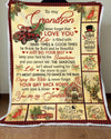Omegaspeaker-Blanket-Christmas Gift Idea-Grandson-Xmas,You Are My Shunshine