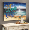 Omegaspeaker-Canvas- Not All Who Wander Are Lost Wall Art/ Decor/ Gift