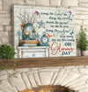 Omegaspeaker- Canvas Oh Glorious Day Wall Art/ Decor/ Gift