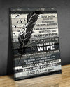 Omegaspeaker - Canvas - You Are My Wife Wall Art/ Decor/ Gift-Love You