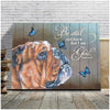 Omegaspeaker - Canvas - Enghlish Bulldog - Be Still Wall Art/ Decor/ Gift-Love Enghlish Bulldog