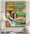 Omegaspeaker - Canvas - Boxer - I'll Be Watching You Wall Art/ Decor/ Gift-Love Boxer
