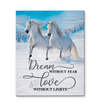 Omegaspeaker - Canvas - Horse - Love Without Limits Wall Art/ Decor/ Gift-Love Horse