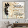Omegaspeaker - Canvas - Horse - Whenever You Find Yourself Wall Art/ Decor/ Gift-Love Horse