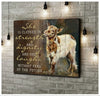 Omegaspeaker - CANVAS - Goat - She Is Clothed In Strength - Wall Art/ Decor/ Gift-Be Strong