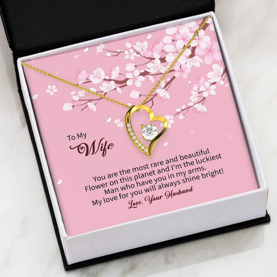Omegaspeaker-Christmas Gift Idea-Jewelry-TO MY Wife-I Love You , Your Husband - Gift To Wife