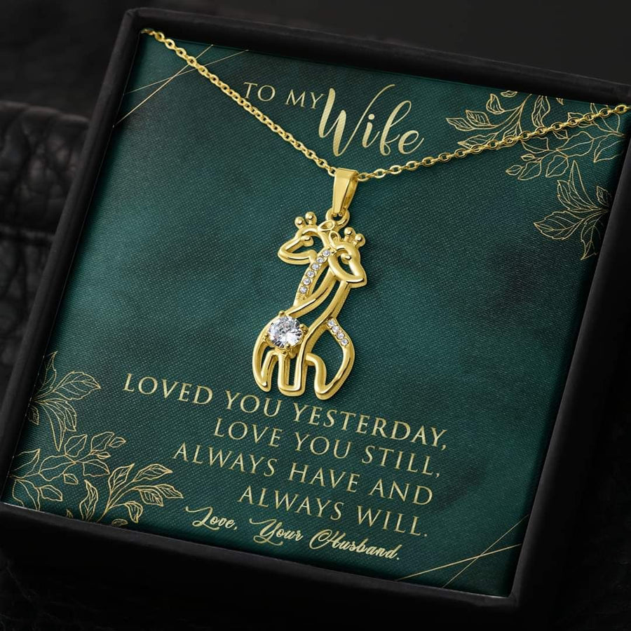 Omegaspeaker-Christmas Gift Idea-Jewelry- To My Wife - I Love You Still - Gift For Wife