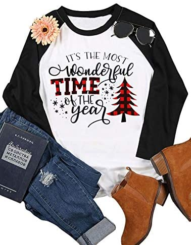 Its The Most Wonderful Time of The Year T Shirt Women