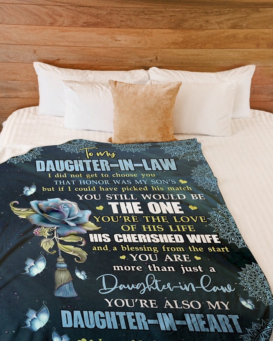 Omegaspeaker-YOURE THE LOVE - SPECIAL GIFT FOR DAUGHTER-IN-LAW Blanket