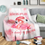 Omegaspeaker-FLAMINGO WHEREVER YOU ARE IM ALWAYS BY YOUR SIDE -Fleece Blanket