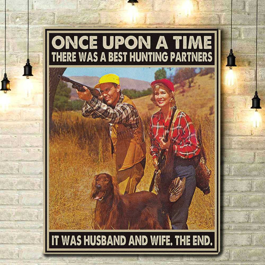 Omegaspeaker-Husband And Wife Hunting Partners For Life