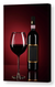 Omegaspeaker -Red Wine Canvas Wall Art - National Red Wine Day in US Canvas