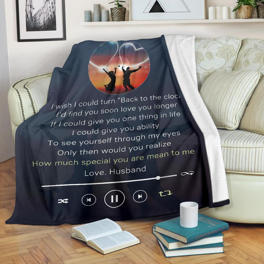 Omegaspeaker - Christmas Gift Idea- Love song to my wife - Blanket cn