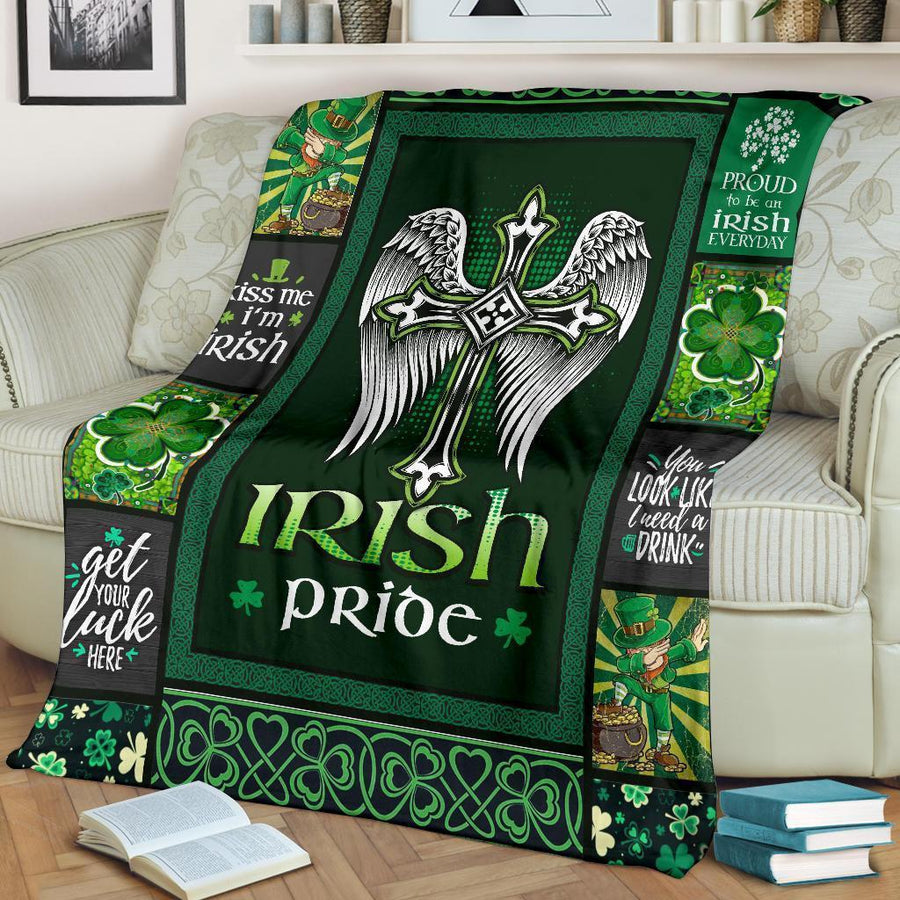 Omegaspeaker-Irish Pride Blanket Patrick Days