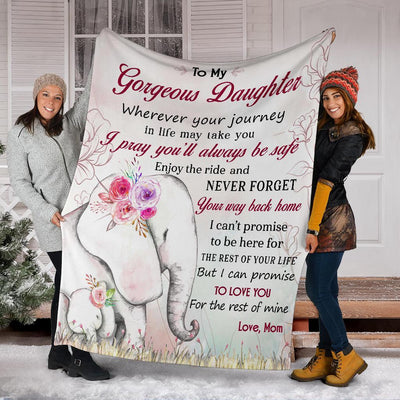 Omegaspeaker- Christmas Gift Idea-I love you Daughter-Blanket HA-2608-A01