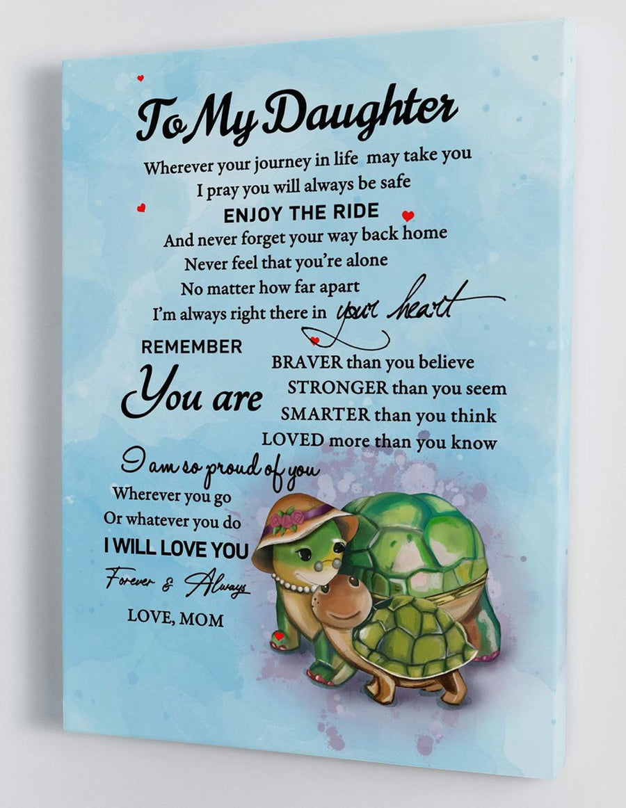Omegaspeaker-To My Daughter - From Mom - Hard Time Canvas Gift BTL054