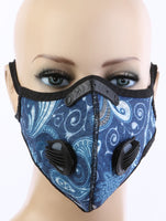 Adrian Paisley Double Respirator Sports Face Mask
