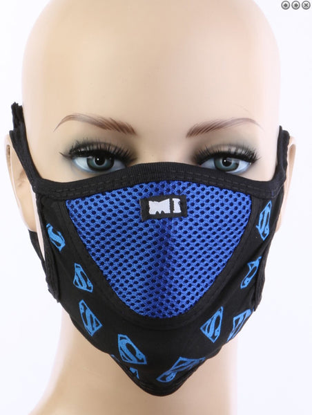 Blair Cotton Mesh Cloth Face Mask