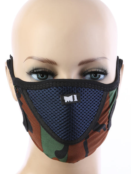 Blair Cotton Mesh Cloth Face Mask - Multiple Colors