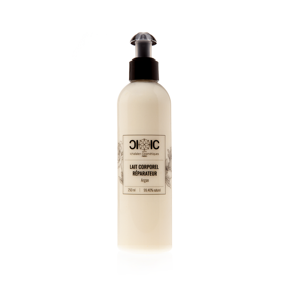 Lait Corporel Réparateur Argan & Rose Damascena