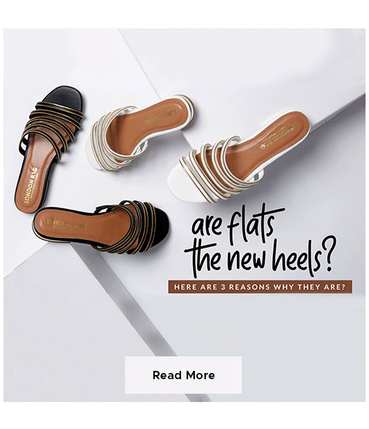 Are flats the new heel