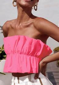 CANDY FLOSS TUBE TOP