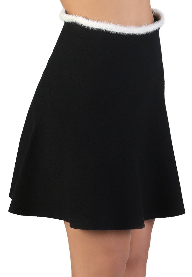 CASUAL KNIT SKIRT