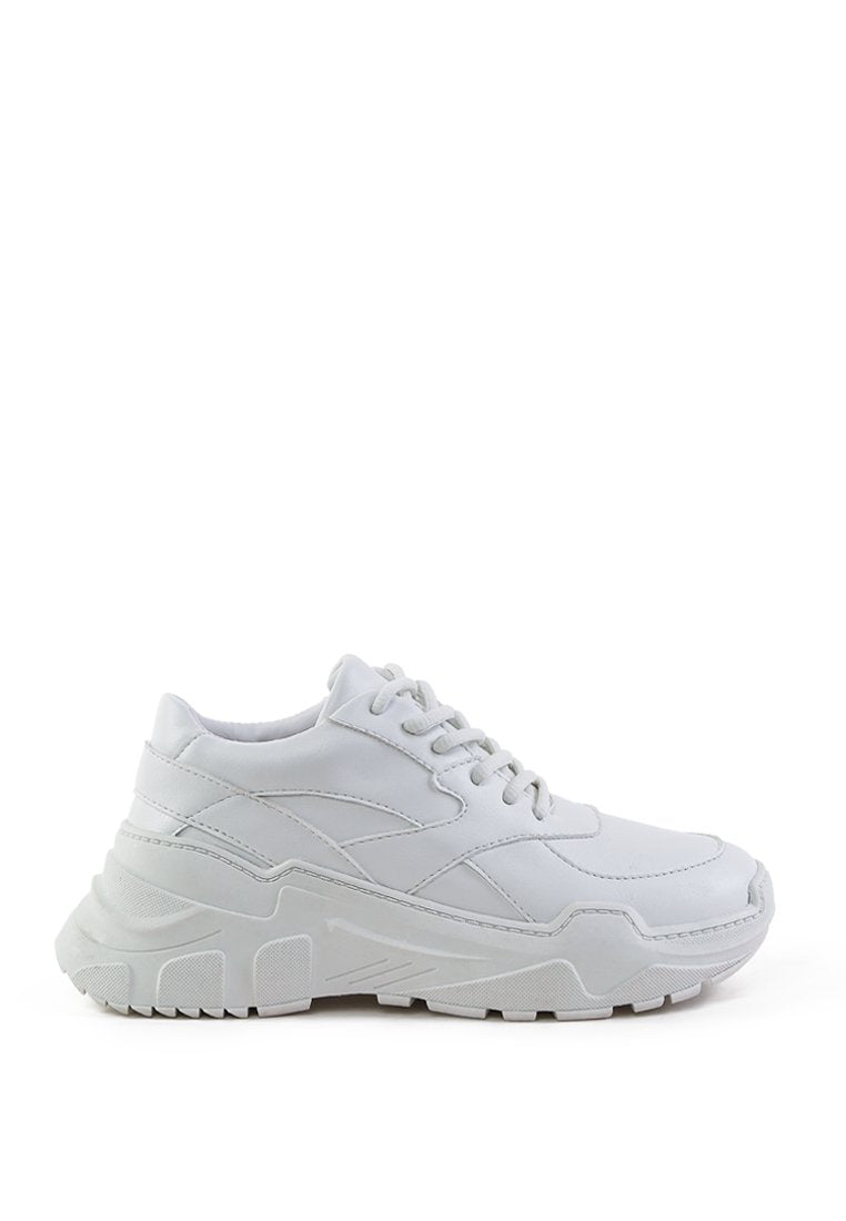 DANIA ACTIVE LACE-UP TRAINERS WITH CHUNKY SOLE