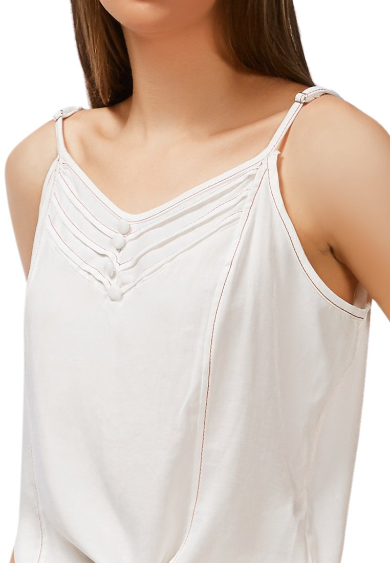 LAZY DAY OFF TIE DOWN CAMI TOP
