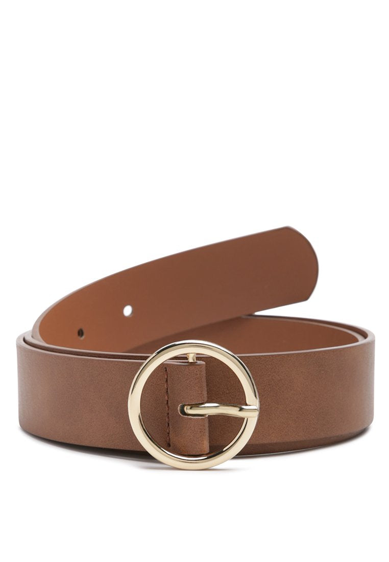 ROUNDABOUT RUNWAY SOLID CASUAL BELT