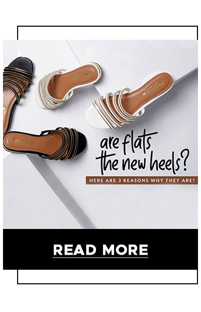 Are flats the new heels