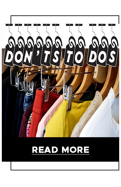 Fashion dont's and do's