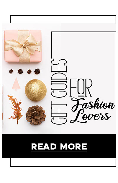 Gift guides for fashion lovers