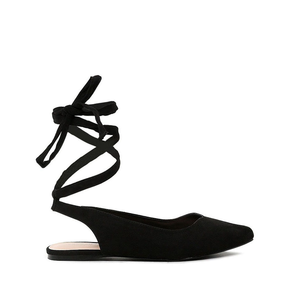 galina ankle strap lace up sandals