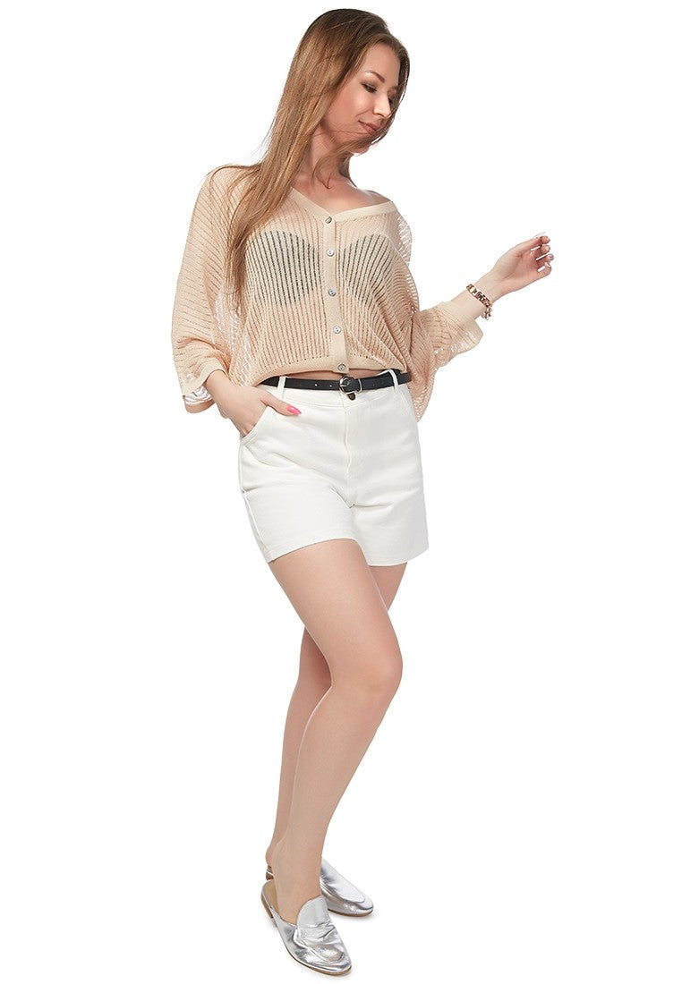 white_cotton_shorts clg7923 white _1_